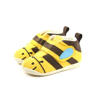亞瑟士 ASICS 布鞋 童鞋 蜜蜂黃 小童 no252