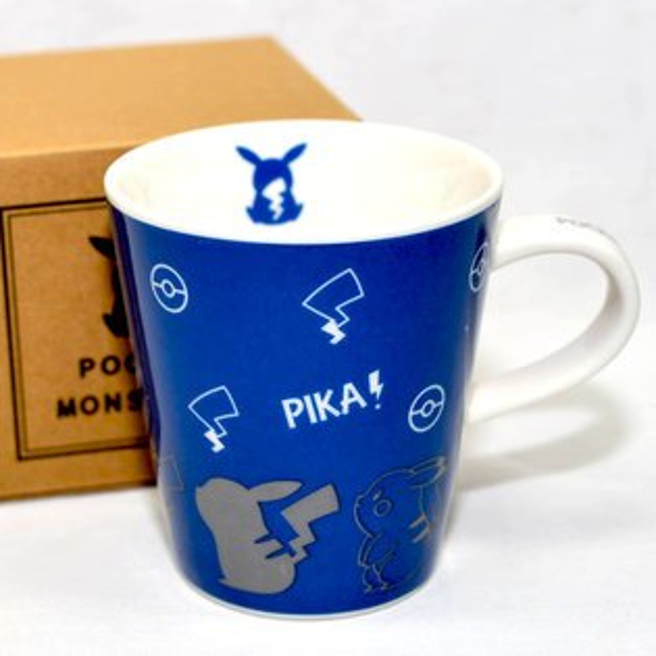 皮卡丘陶瓷馬克杯正版日本國內限定神奇寶貝