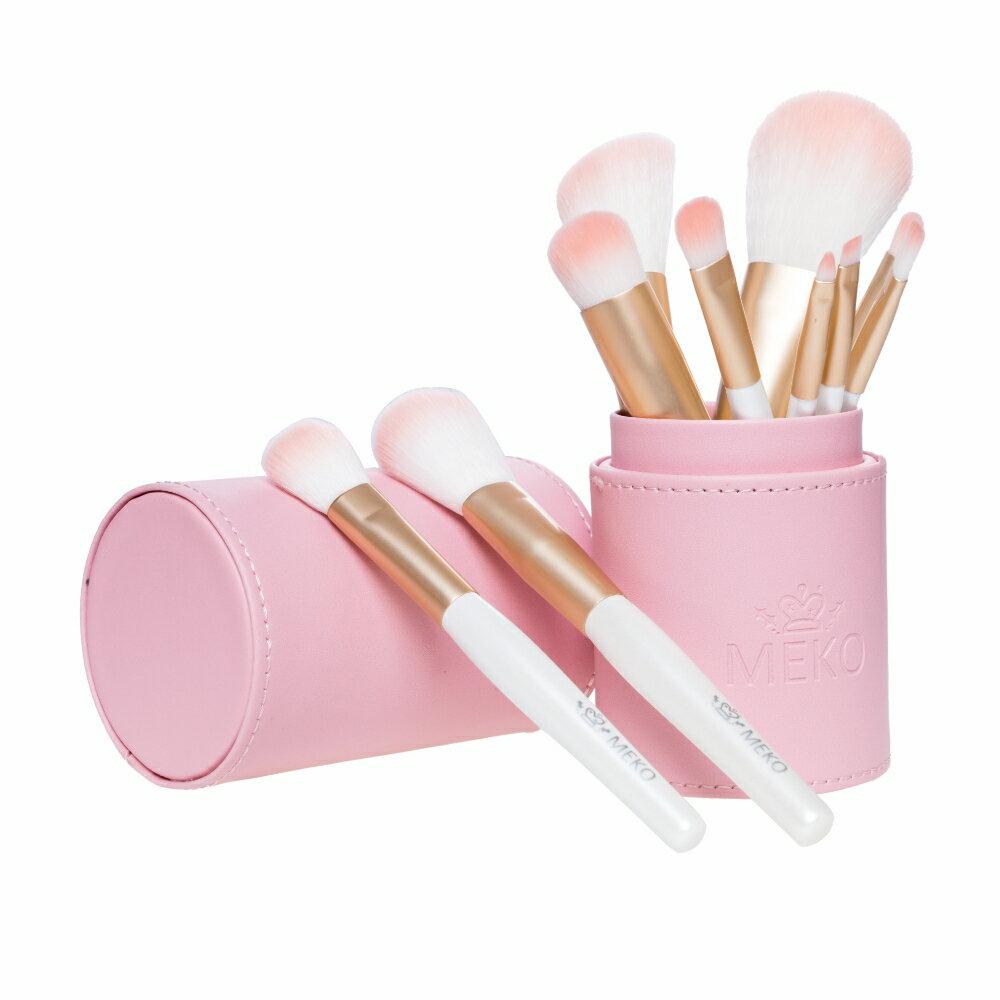 MEKO PINK 粉嫩刷具十件組