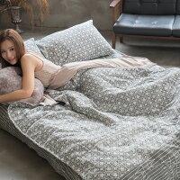 居家生活床包 被套 兩用被  單人床包組/雙人床包組  台灣製造 棉床本舖 [ 海棠花 ] 好窩生活節。就在棉床本舖Annahome居家生活