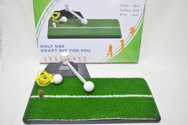 【小工人】綠能量高爾夫球打擊墊 練習墊 推桿練習器 居家室內都可以練習打擊穩定度 不怕受雨天限制