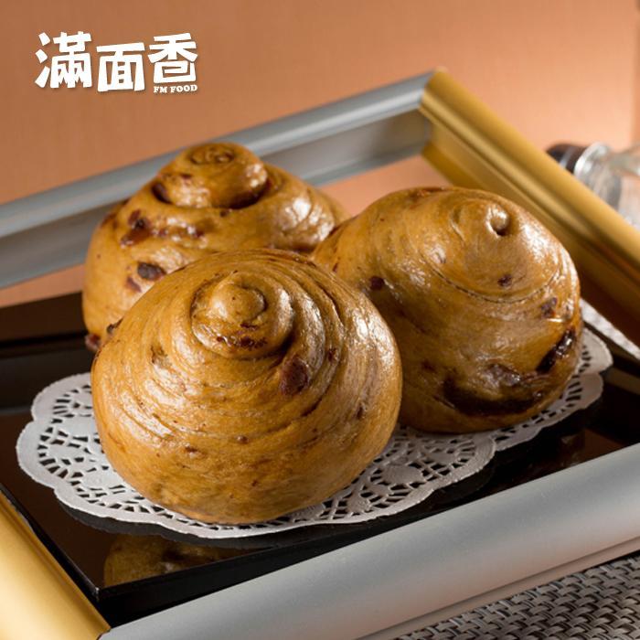 【滿面香】富桂滿香手工饅頭(桂圓紅棗) - 4顆入