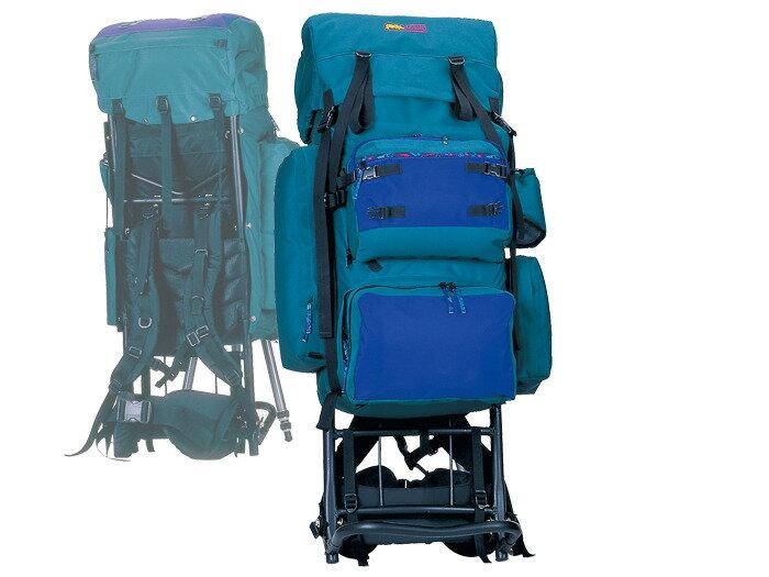 【露營趣】中和 送手電筒D型扣環 犀牛 RHINO 685 85公升 豪華型大外架背包 登山背包 背架