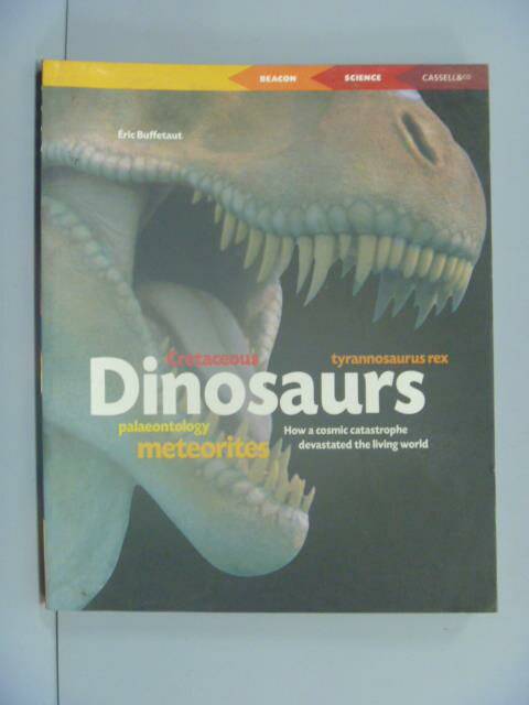 ~書寶 書T4/動植物_NGR~Dinosaurs: Why They Disappear