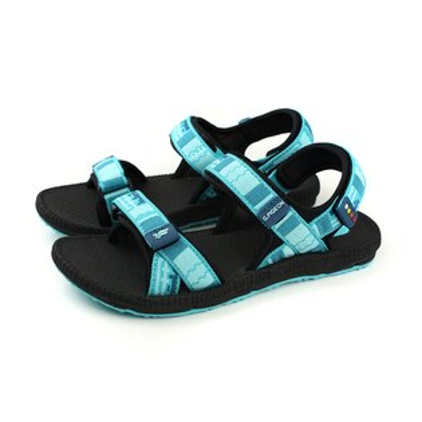 GP(Gold.Pigon)阿亮代言涼鞋拖鞋防水雨天女鞋黑水藍G8658W-20no850