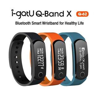 *╯新風尚潮流╭* 雙揚 i-gotU 藍牙智慧手環 藍牙運動錶 自我健康管理 健身 Q62