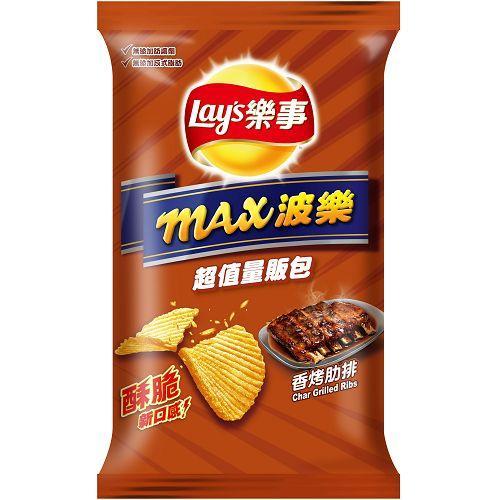 樂事max波樂洋芋片-香烤肋排97g【愛買】