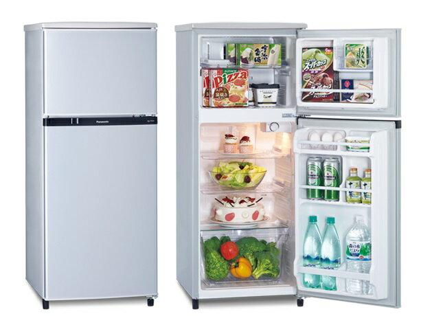 Panasonic 國際牌 130L 雙門電冰箱 NR-B138T【零利率】※熱線07-7428010
