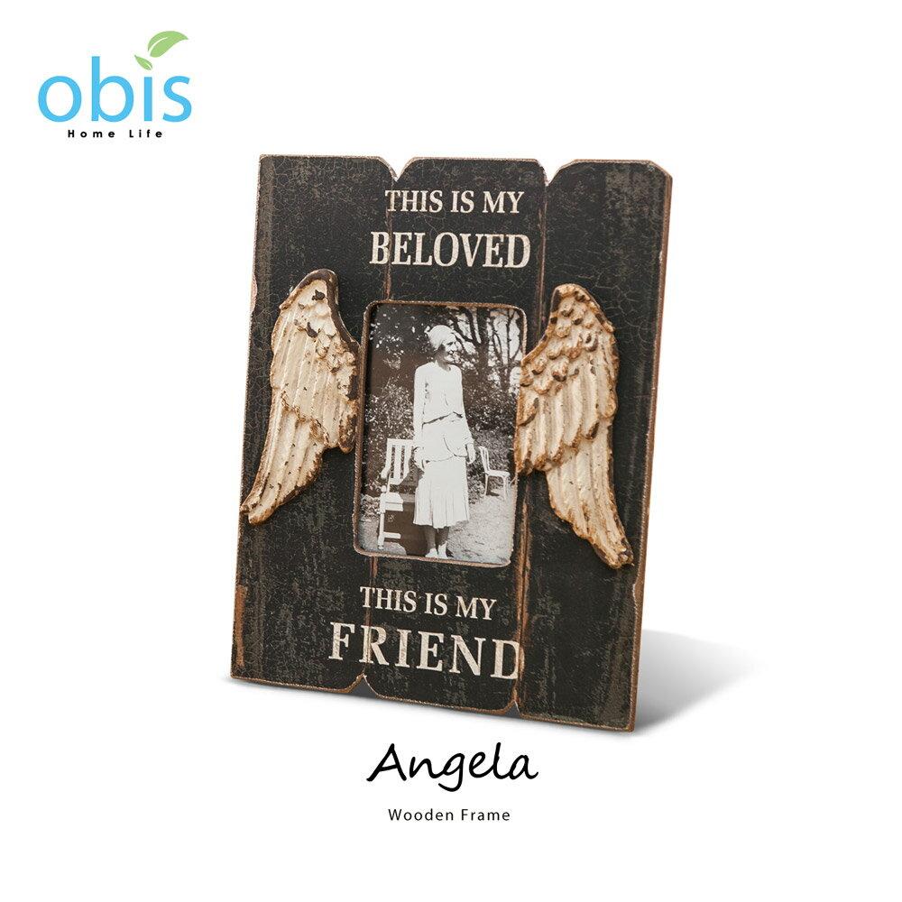 Angela天使之翼復古風木質相框【預購】