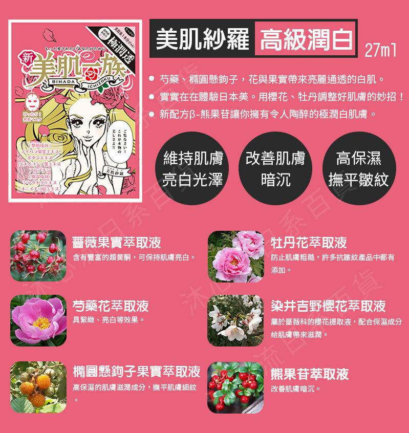 日本【新美肌一族-5入組】保養面膜 ⭐任選5片只要799⭐ 5