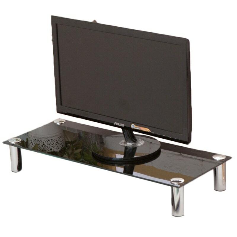 高質感強化玻璃螢幕架 螢幕架 / 書桌 / 電腦桌 / 桌上架【JL精品工坊】 1