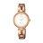 CITIZEN 星辰 Eco-Drive光動能 溫柔氣質時尚女錶 玫瑰金 EM0639-81A 28mm 1