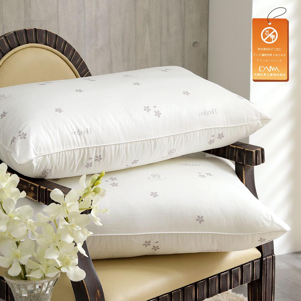 防蹣抗菌多孔纖維枕2入