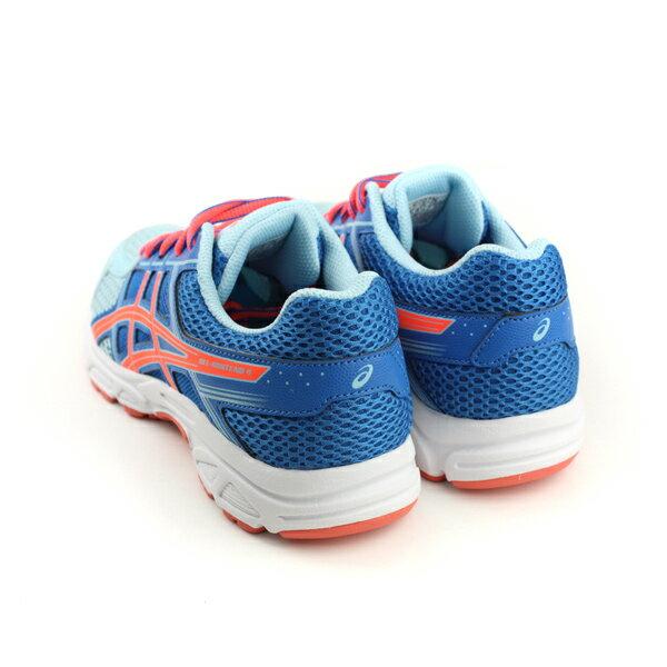 亞瑟士 ASICS GEL-CONTEND 4 GS 運動鞋 童鞋 藍色 大童 C707N-1406 no283 1