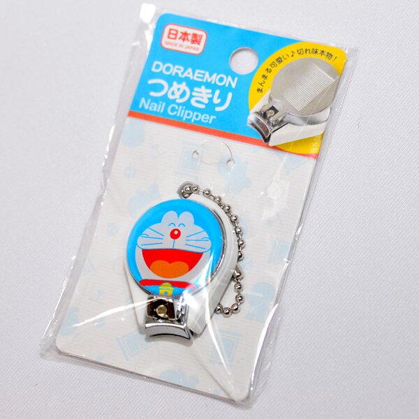 哆啦A夢抗菌指甲剪指甲刀吊飾日本製Doraemon