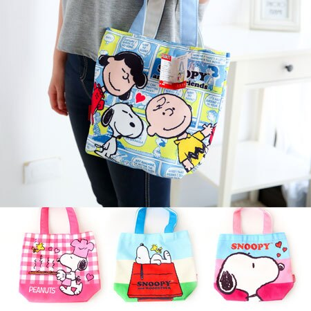 正版史努比餐具袋 Snoopy 史奴比 餐具收納袋 便當袋 午餐袋 收納袋 萬用袋 手提袋 餐具袋【B061321】