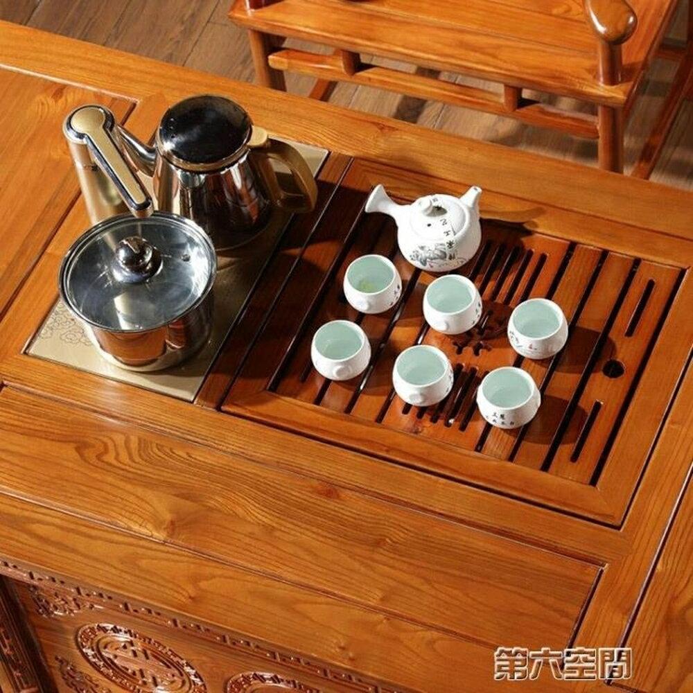 茶几 茶桌椅組合實木中式茶幾陽台功夫茶桌泡茶桌小戶型現代簡約茶藝桌 第六空間 MKS 0