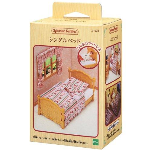 《森林家族-日版》家具配件-棉被單人床組