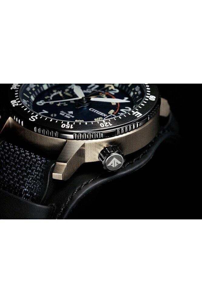 CITIZEN 星辰30週年限量腕錶 (BN4055-19l)新技術處理的鈦金屬 登山錶 46mm
