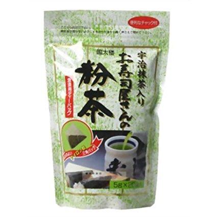 kunitaro國太樓壽司屋宇治抹茶綠茶粉茶包20入 5gx20包入 ?太? 急須用??司屋???粉茶??????