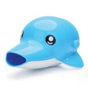 韓國【Edison】 水龍頭延伸輔助器(藍海豚)