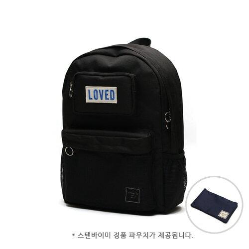 【獨家商品】韓國潮牌 STANd.BY.ME 154 網袋後背包 書包 電腦包 4