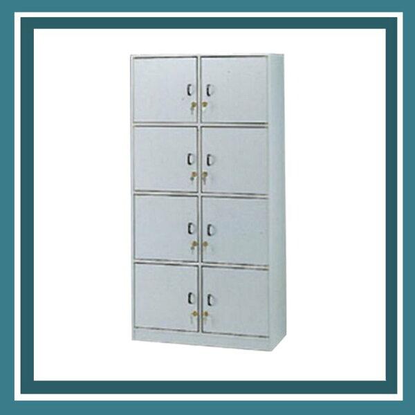 『商款熱銷款』【辦公家具】CK-408D8門加鎖置物櫃多用途書櫃櫃子檔案收納