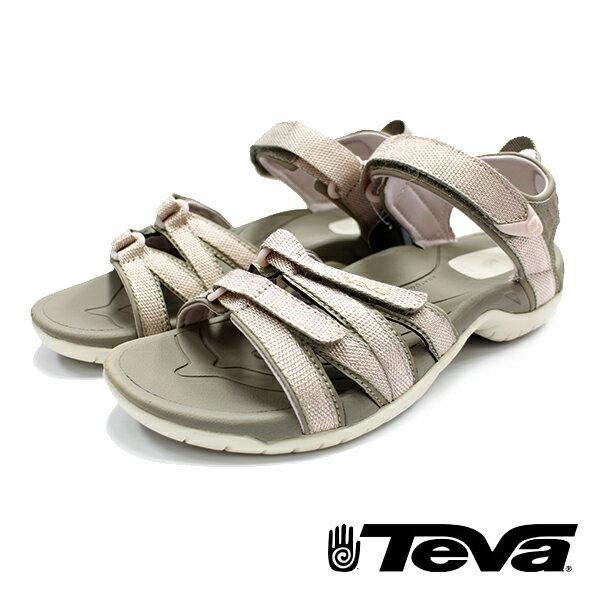 【TEVA 促銷8折 │全店免運】】TEVA 美國 女 Tirra 機能運動涼鞋 氣質粉-TV4266ZRGL