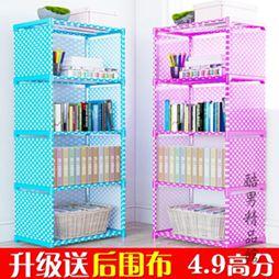 簡易書架置物架落地書櫃學生用經濟型簡約 桌上兒童桌面小書架CY