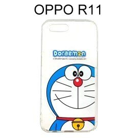 哆啦A夢空壓氣墊軟殼[大臉]OPPOR11(5.5吋)小叮噹【正版授權】