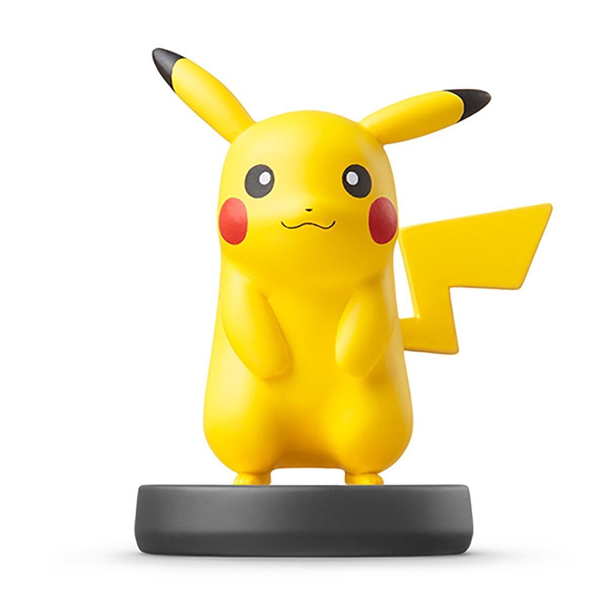 Amiibo 皮卡丘 公仔 pikachu 互動 Wii U/New3DS/New3DS LL 公仔