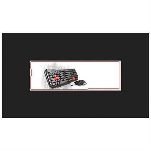 Viotek HAWKPECK 2.4Ghz Wireless Mouse & Keyboard - Retail - USB Wireless RF Keyboard - 104 Key - Red, Black - USB Wireless RF Mouse - Optical - 2000 dpi - 7 Button - Scroll Wheel - Red, Black a920450d0981575e4508d1cb9834c27a