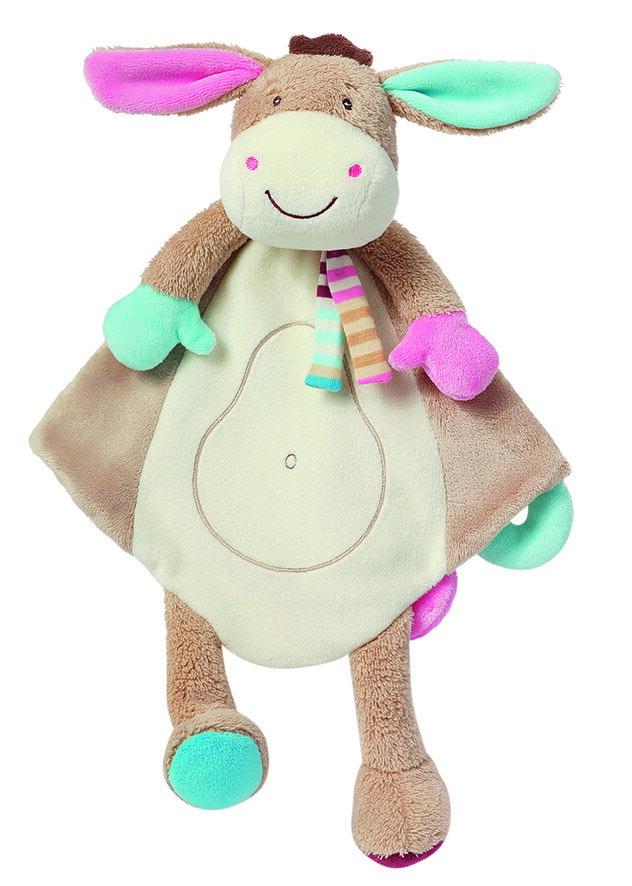 德國【BabyFEHN】叢林夥伴小驢安撫布偶奶嘴巾 - 限時優惠好康折扣