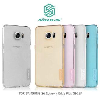 ~斯瑪鋒數位~NILLKIN Samsung Galaxy S6 Edge Plus G928F 本色 TPU 軟套 軟殼