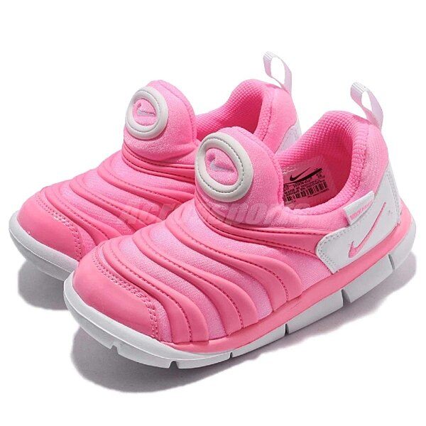 Nike 毛毛蟲鞋 Dynamo Free TD 粉紅 白 嬰兒鞋 幼兒鞋 小童鞋 343938-625