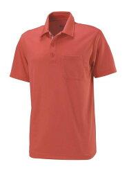 【【蘋果戶外】】荒野 W1622-13 橘紅色 WildLand 男 疏水紗素色短袖POLO衫 吸濕排汗 運動上衣 休閒 運動 快乾透氣 輕薄舒適 大尺碼