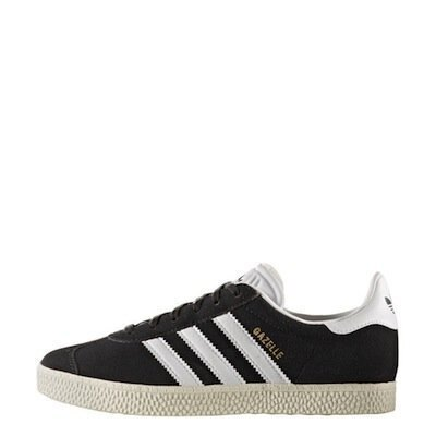 ADIDAS ORIGINALS GAZELLE 黑灰 白 大童/女鞋 US 4~7 BB2503 E