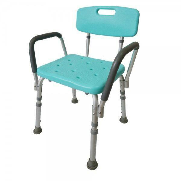 富士康鋁製洗澡椅(扶手可掀)FZK0015