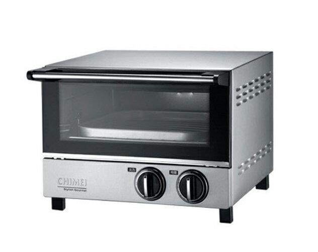 奇美CHIMEI 12L遠紅外線不鏽鋼烤箱EV~12S0AK