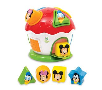 米奇好朋友房屋遊戲組/ Mickey and Friends Shape and Colours/ 嬰幼童玩具/ 迪士尼/ 積木/ 伯寶行