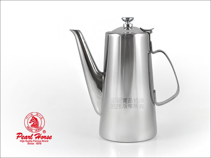 快樂屋? 日本寶馬牌營業用 # SUS201不鏽鋼長口冷水壺 1.9L 熱水壺 泡茶壺 高湯壺 開水壺