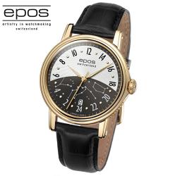 EPOS EMOTION 情感系列黑夜星雲機械腕錶3390.302.22.38.25FB黑白面/41mm 3423.133.20.15.25FB-黑/40.5mm