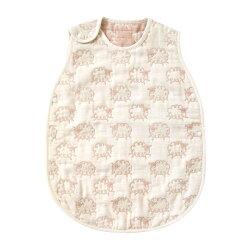 【贈成長小卡】日本 Hoppetta 六層紗綿羊防踢背心-幼童