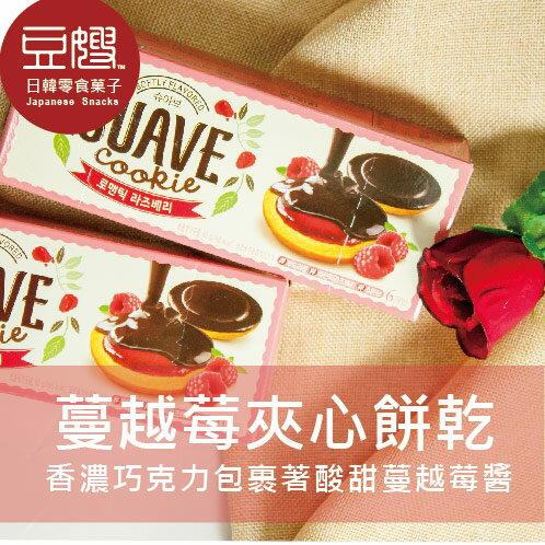 【豆嫂】韓國零食 海太 蔓越莓夾心巧克力餅乾(六入)