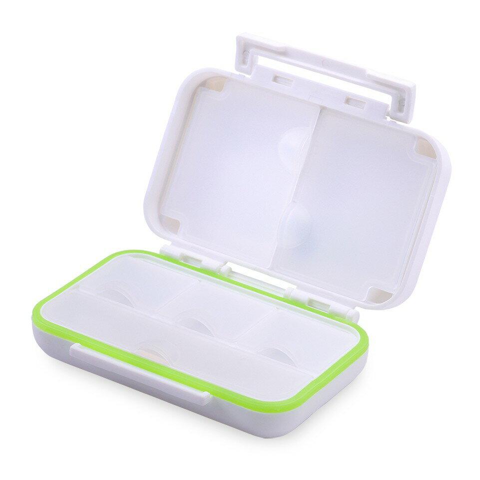 6格防潮保健盒 藥盒 白色  【護立康】