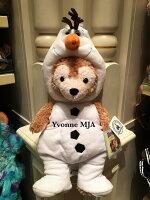 *Yvonne MJA香港代購*香港迪士尼Disney 樂園限定正品Duffy達菲熊雪莉玫熊S號雪寶套裝外衣