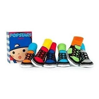 pregshop孕味小舖《美國Trumpette》嬰兒襪子6入-星星男孩