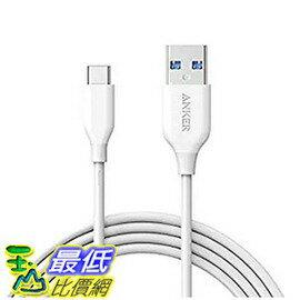 [美國直購] Anker AK-A8166021 傳輸線 PowerLine USB-C to USB 3.0 Cable (6ft) for USB Type-C Devices