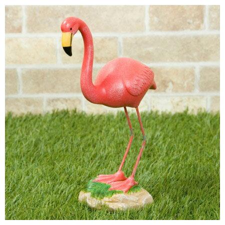 (數量限定)動物造型園藝裝飾品 紅鶴 FLAMINGO MS153844-9.5 NITORI宜得利家居