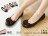 格子舖*【ADW1782】韓版高質感素面蝴蝶結金屬飾品坡跟包鞋 走路鞋 6色現貨 台灣製造 - 限時優惠好康折扣